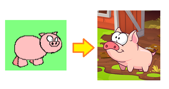 Pig Old and New