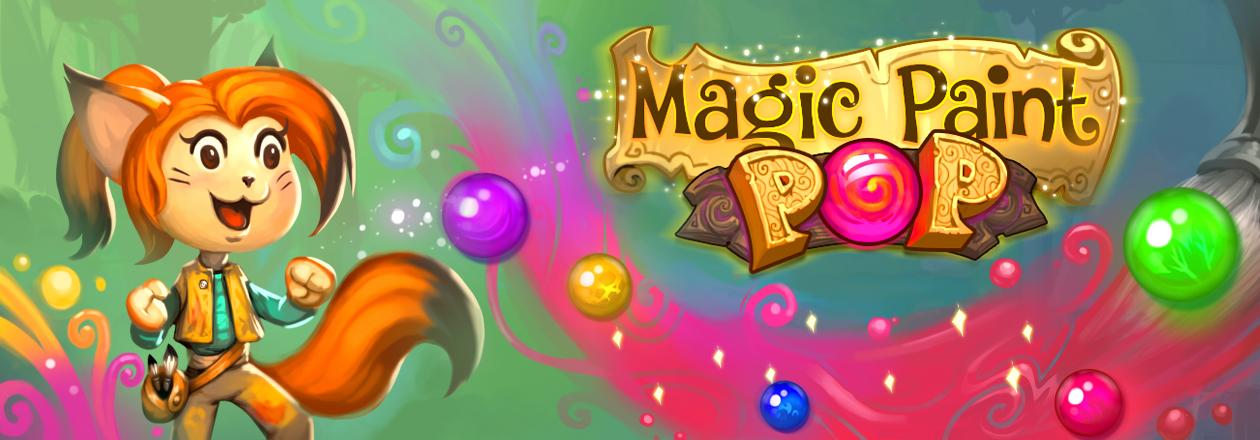 Magic Paint Pop Banner